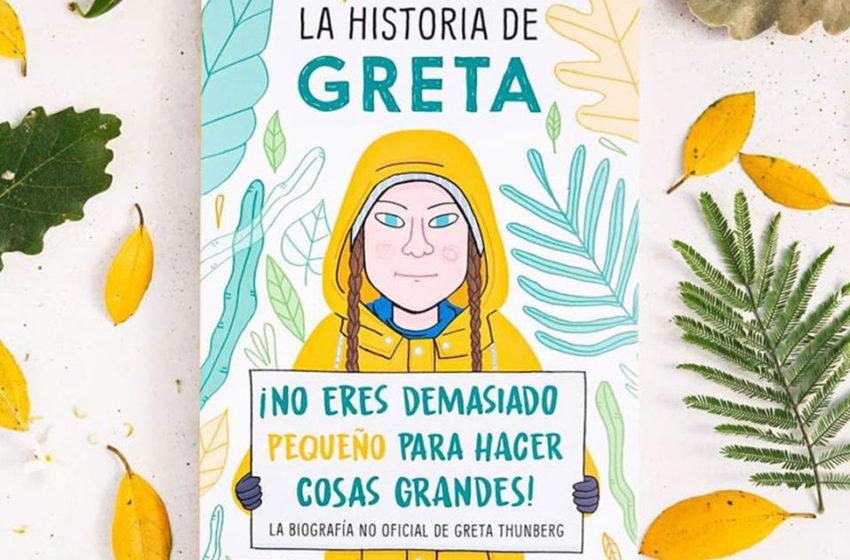 La historia de Greta Thunberg: El libro