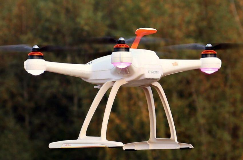Drones para reforestar