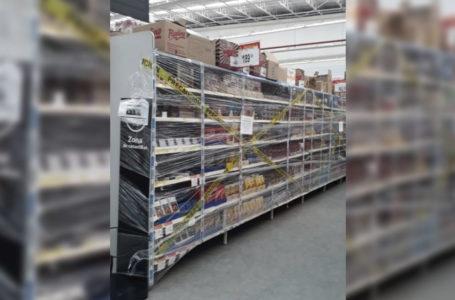 Dejan de vender productos no esenciales