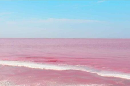 Lago Kobeytuz la joya rosa