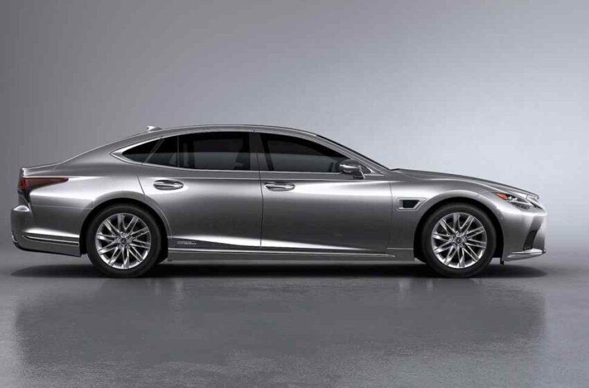 Lexus LS 500h novedades