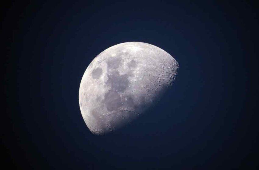La Luna y el gas metano