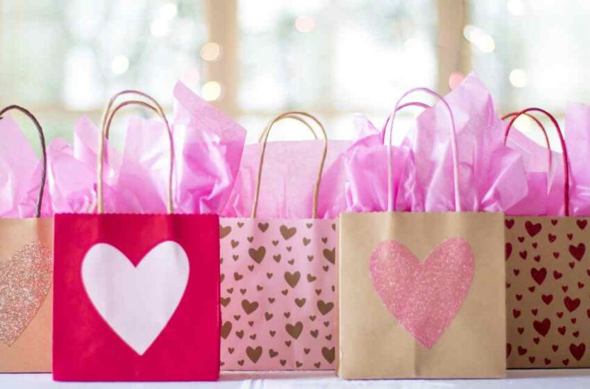 Bolsa de regalo reciclada